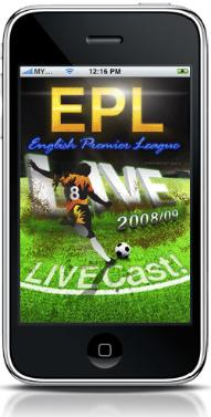 epl phone app 1 Premier League Comes To The iPhone: EPL Live! App Review