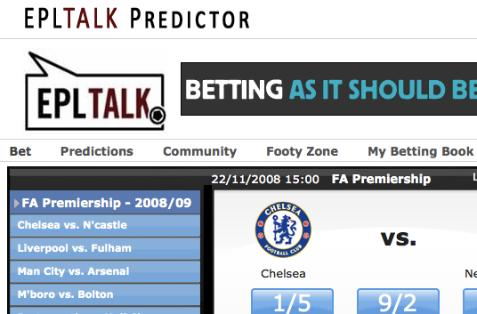 Play The New Premier League Predictions Game - World Soccer Talk