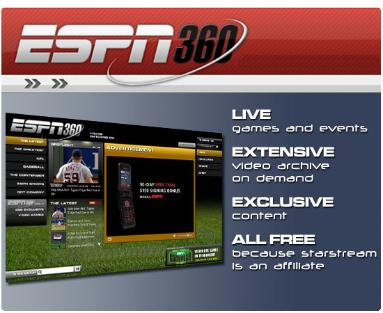 espn360 screen ESPN Moves a Step Closer To Premier League TV Rights