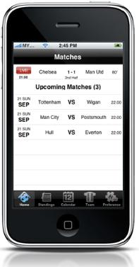 match scores Premier League Comes To The iPhone: EPL Live! App Review