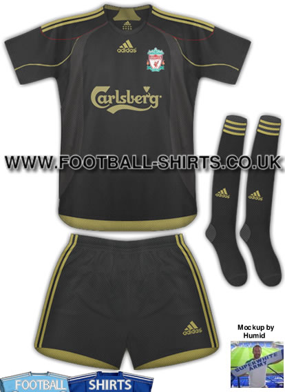 new liverpool away shirt New 09/10 Liverpool Away Shirt