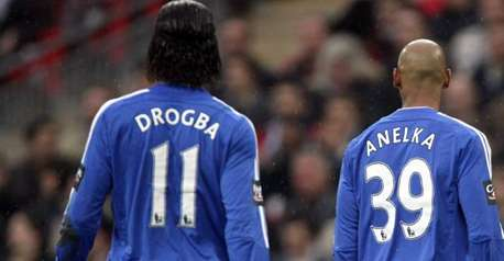 anelka drogba Its Time to End Talk of Didier Drogba and Nicolas Anelka Being Strike Partners