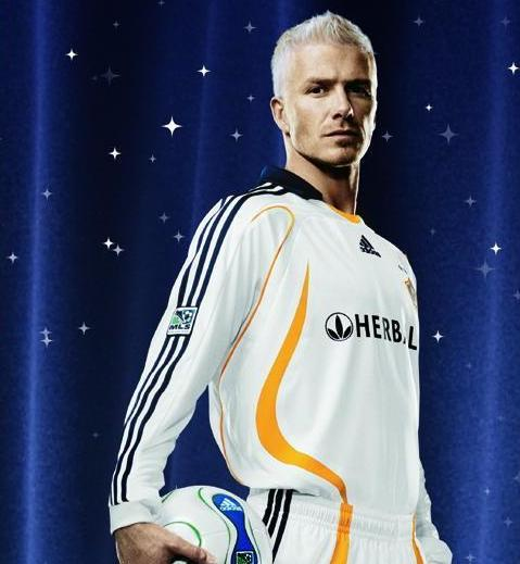 david beckham la galaxy jersey1 Beckham Divorce with MLS Mutual, Inevitable, Deserved