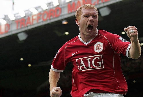 paul scholes1 Paul Scholes Could Be Englands Messiah, Yet Again