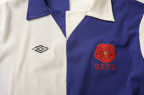 blackburn home Classic Football Shirts From The Umbro Archives