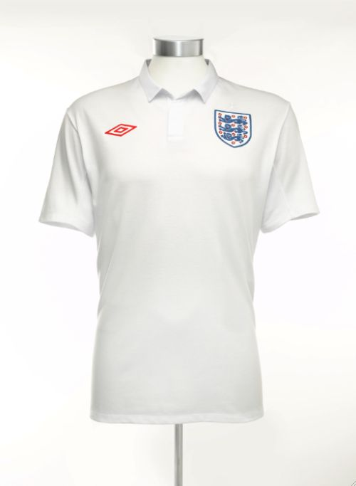england home shirt new Pictures Of England Home Shirt Revealed