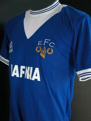 everton retro le coq sportif New 09/10 Everton Home & Away Shirts Revealed