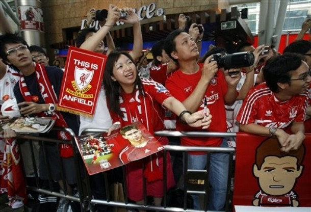 Hong Kong Soccer Liverpool Asia Trophy