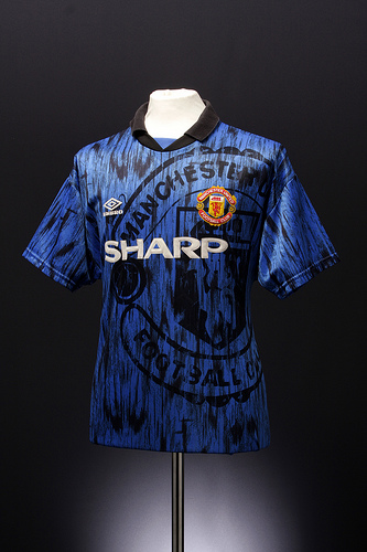 man united away Classic Football Shirts From The Umbro Archives