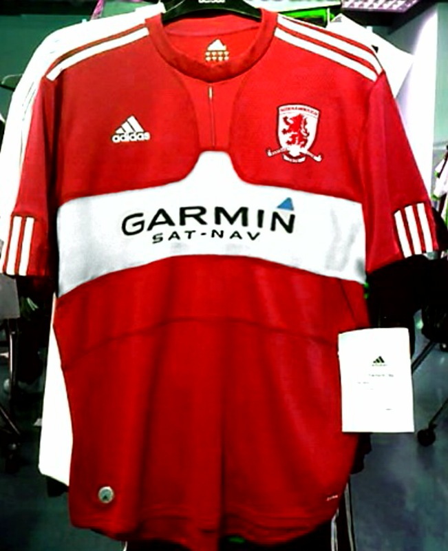 boro adidas Is This Middlesbroughs New Home Shirt For 09/10 Season?
