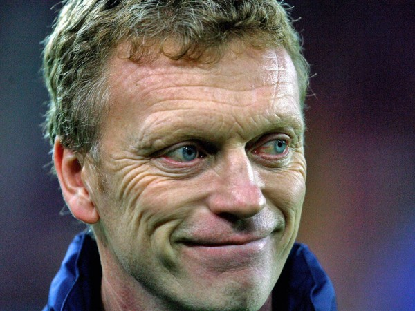 moyes happy 600x450 With Or Without David Moyes, Whats The Outlook For Everton Next Season?