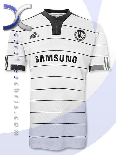 new chelsea away jersey New Chelsea Home, Away & Third Jerseys For 2009/2010 Season Revealed