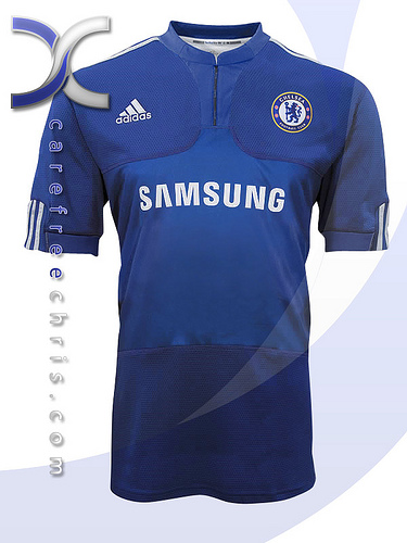 new chelsea home jersey New Chelsea Home, Away & Third Jerseys For 2009/2010 Season Revealed
