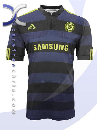 new chelsea third jersey New Chelsea Home, Away & Third Jerseys For 2009/2010 Season Revealed