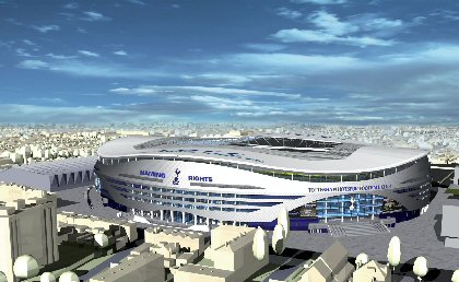new white hart lane Tottenham Unveil Latest Plans for Mini Me Emirates Stadium