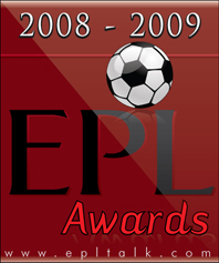 epl award logo1 2008 09 Best EPL TV, Radio & Podcast Coverage