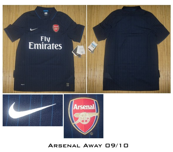 051a52f22 New Arsenal Away Football Shirt For 09 10 Season Revealed - World ...