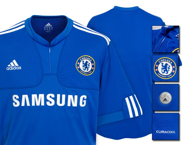 first rate eab2c 70e3d New Chelsea Home Shirt For 09/10 Season Unveiled - World ...