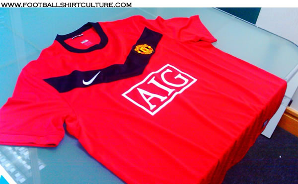 new man united home shirt 09 10 season Is This Man Uniteds New Home Shirt For The 09/10 Season?
