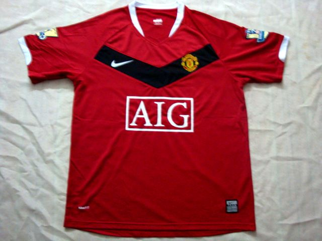 new manchester united home shirt Is This Man Uniteds New Home Shirt For The 09/10 Season?
