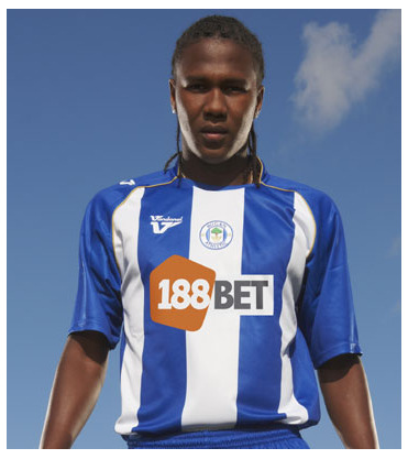 new wigan athletic home shirt Wigan Athletic Unveil New Football Kit For 09/10 Season