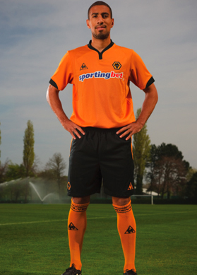 new wolves home shirt New Wolves Home And Away Shirts For 09/10 Season