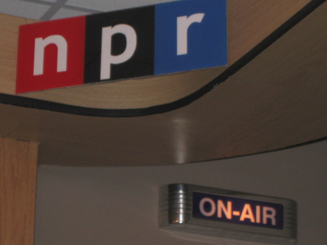 npr national public radio Programming Note