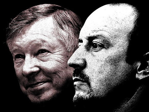 benitez ferguson 5 Leading Candidates to Take The Tottenham Hotspur Manager Vacancy