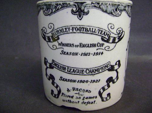 1920-21 Burnley FC Commemorative Mug