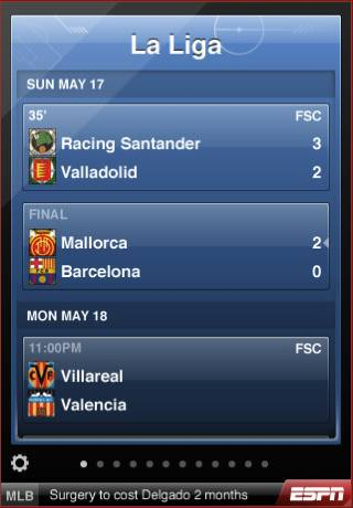 espn scorecenter soccer fans ESPN ScoreCenter iPhone App Review: For Soccer Fans