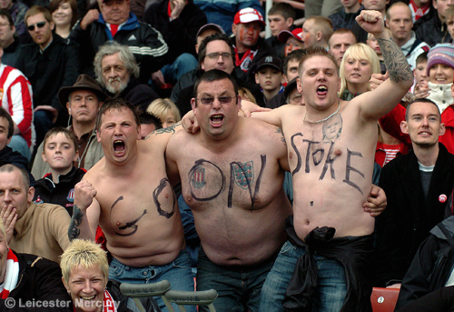 stoke city supporters Stoke City Supporters Named Worst In Premier League