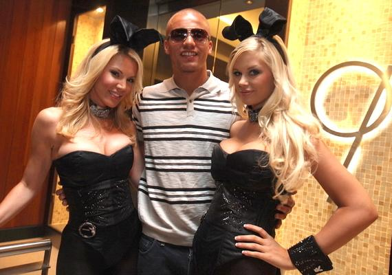 wes brown las vegas partying Where Do Premier League Footballers Go On Summer Holiday?