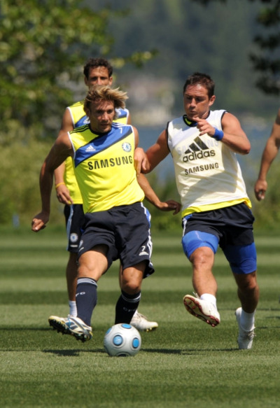 chelsea training1 Chelseas US Tour Is A Preview Of 39th Game