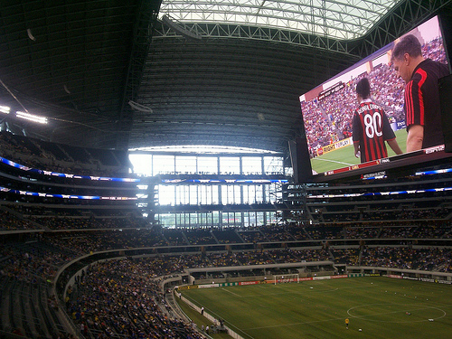 cowboy stadium soccer Chelsea US Tour: More Photos And Stories