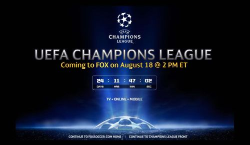 fox soccer champions league Fox Soccer Channel Prepares for Champions League Launch
