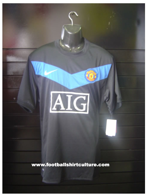 manchester united away jersey1 Manchester United Away Jersey For 09/10 Season Leaked