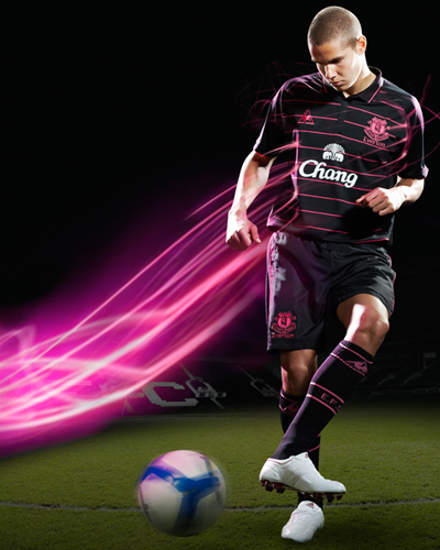 new everton away jersey Everton Away Jersey For 09/10 Season