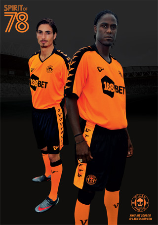 wigan athletic away kit Wigan Athletic Away 09/10 Kit Revealed
