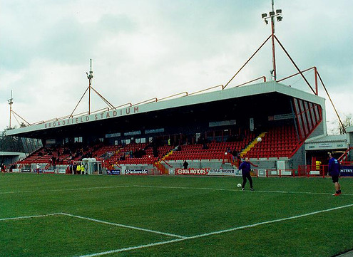 crawley town stand What Football Dreams Would You Make Come True?
