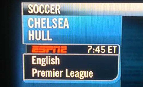 espn news chelsea hull ESPN To Show Chelsea v Hull City Game