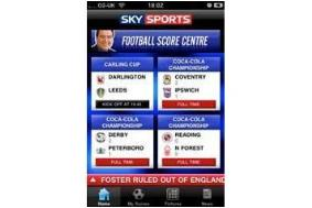 sky sports iphone app Sky Sports Releases Football Score Centre iPhone App