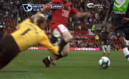 wayne rooney dive Man United 2 1 Arsenal: Did Wayne Rooney Dive?