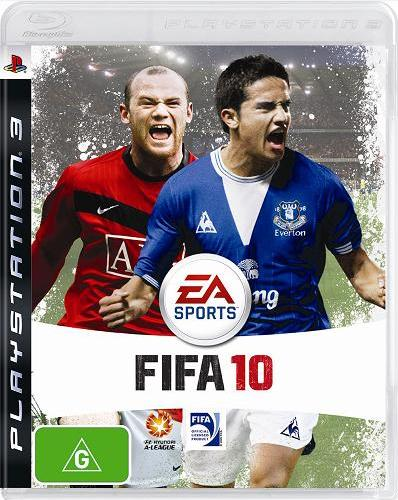 fifa 10 ps3 packshot FIFA 10 Gameplay Impressions