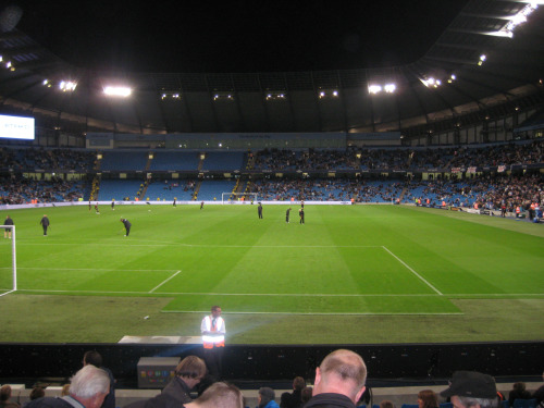 inside eastlands manchester city Carling Cup Adventures At Elland Road and Eastlands: Photos