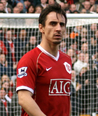 rsz gary neville crop1 Devils Done? Can Man Utd Win With This Defense?
