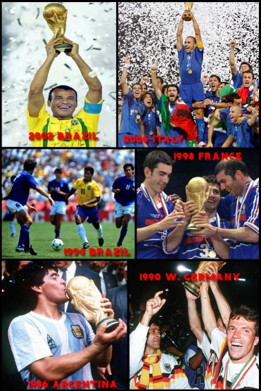 World Cup Winners 1986 2006 Revealed: What England Must Do To Win The World