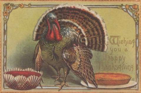 happy thanksgiving postcard Happy Thanksgiving Day, Soccer Fans