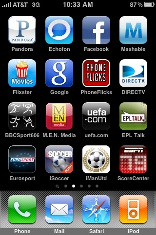 iPhone First Look At The EPL Talk Podcast App
