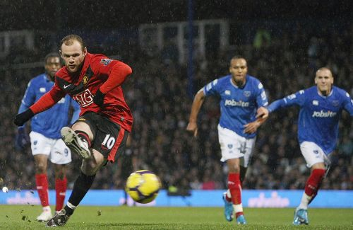 rooney Portsmouth v Manchester United and the Dubious Penalty