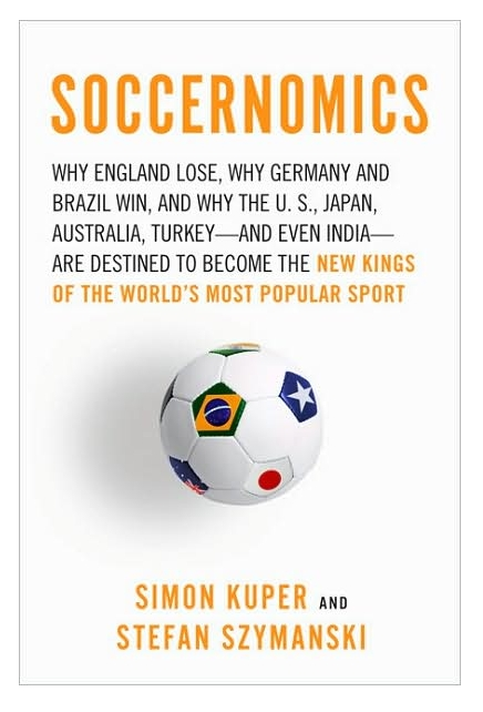 Soccer By the Numbers: Soccernomics Book Review